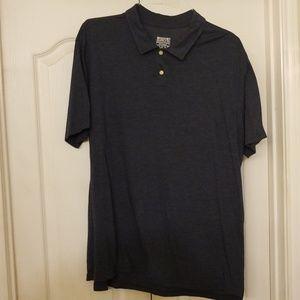 Mossimo blue polo shirt